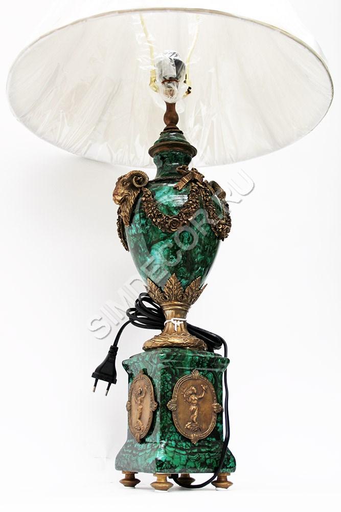 Настольная Лампа Деревянная Пастель