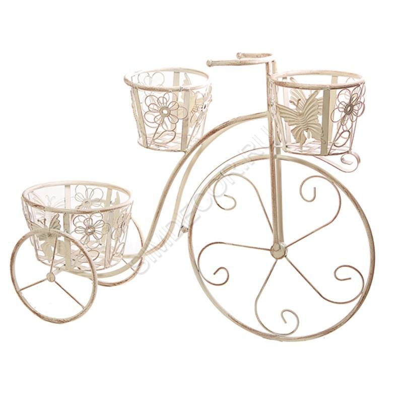 Кашпо для цветов велосипед